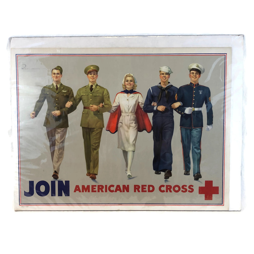 Vintage American Red Cross Recruiting Advertisement