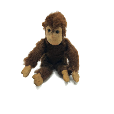 "Vintage Steiff Miniature Stuffed Monkey ""Jocko"""