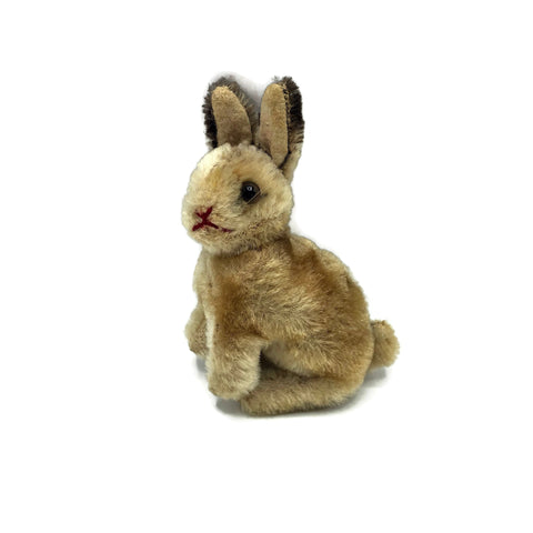 Vintage 1950's Small Steiff Sitting Bunny