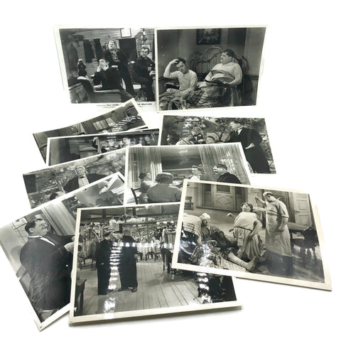 Vintage New Mint Condition  Laurel & Hardy Stills From Our Relations