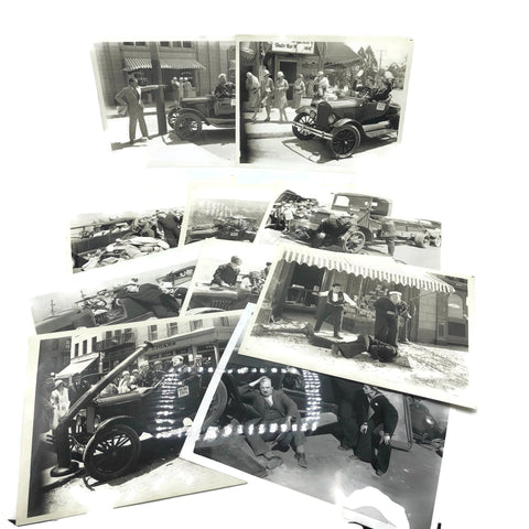 Vintage New Mint Condition  Laurel & Hardy Stills From Two Taps