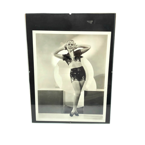 Vintage Art Deco Pin Up Photo From the 1930's