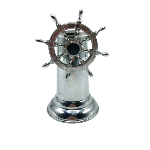 Vintage Art Deco Nautical Captains Wheel Lighter