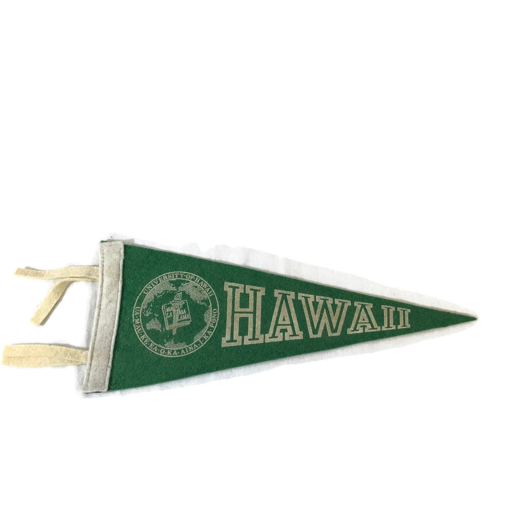 Small Early Hawaiian Pennant