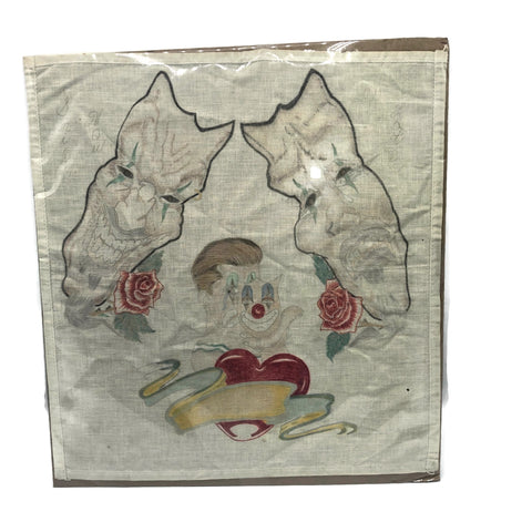 Vintage Comedy and Tragedy Prison Art Handkerchief