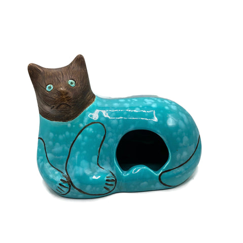 Vintage Mid Century Jaru Ceramic Cat Ashtray