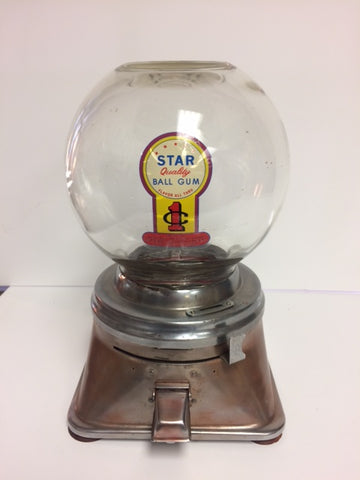 1950's Counter Top Hart Gumball Machine