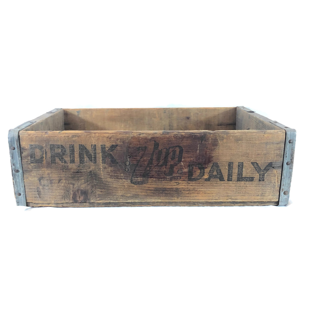 Vintage 7-Up Crate/ Box
