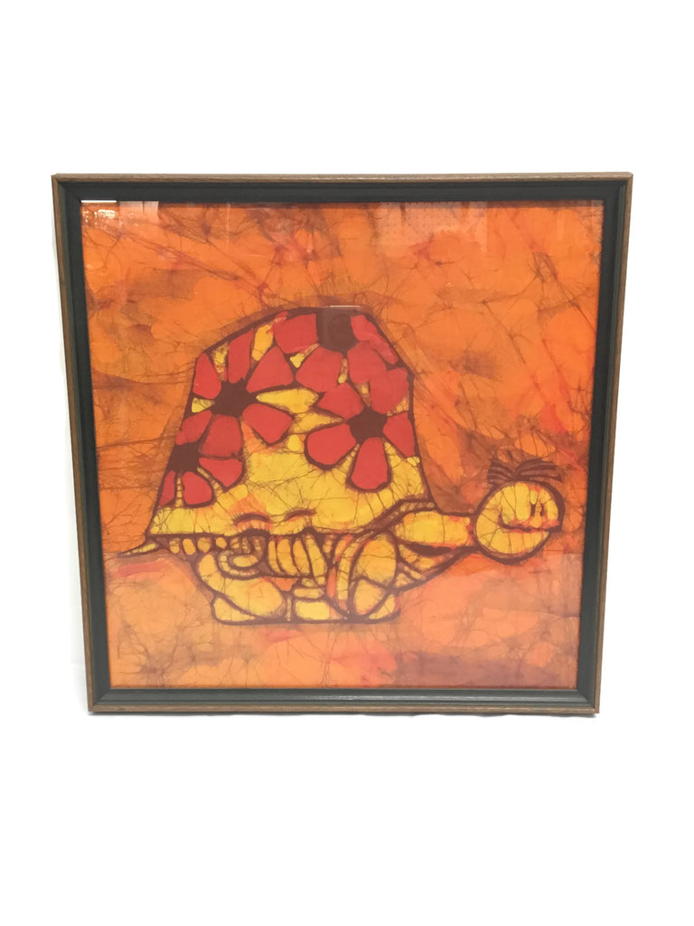 Vintage Batik Betty MacDonald Turtle Art
