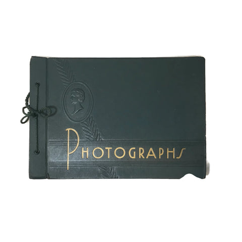 Vintage Photo Album w/ 80+ Photographs