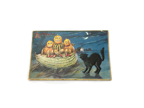 "Antique Halloween ""Tuck"" Post Card"