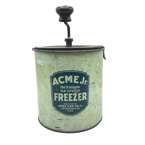 Vintage ACCME Jr. Ice Cream Freezer Circa 1910