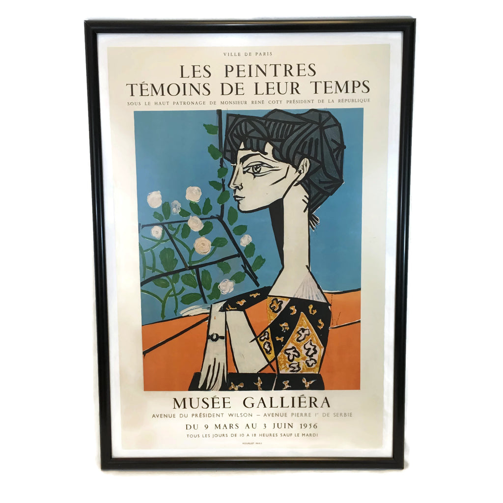 Vintage 1956 Musee Galliera Pablo Picasso Poster