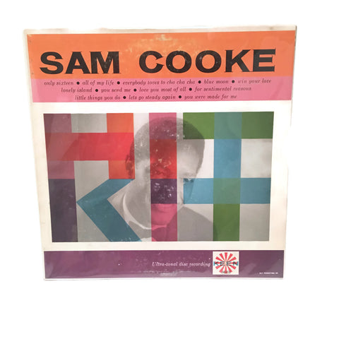 "Vintage 1959 Sam Cooke ""Hit Kit"" 1st Press Mono Keen 86101 Rec LP"