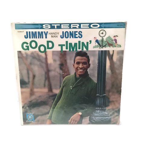 "Vintage 1960 Jimmy Jones ""Good Timin'"" Stereo Rec LP"