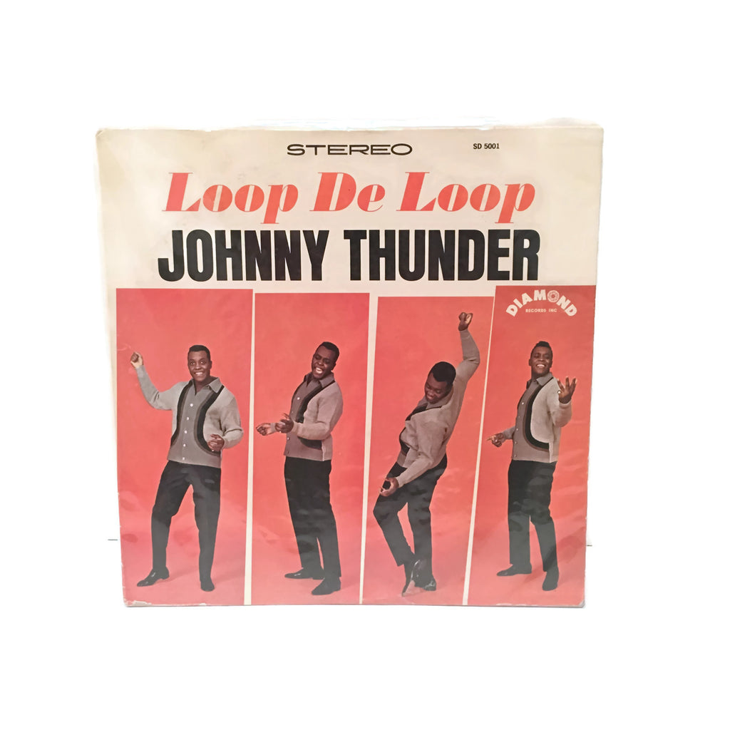 "Johnny Thunder ""Loop De Loop"" Stereo Record LP"