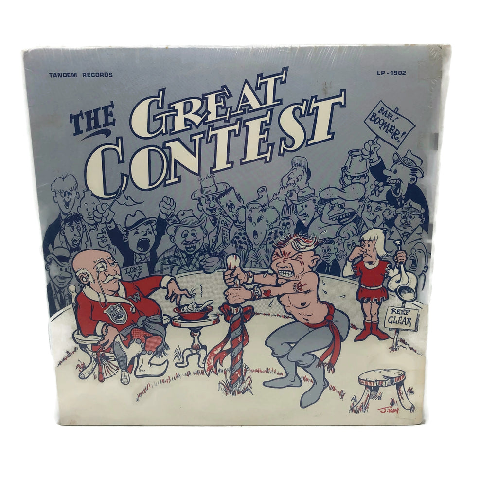 Vintage Tandem Records The Great Contest Farting Record