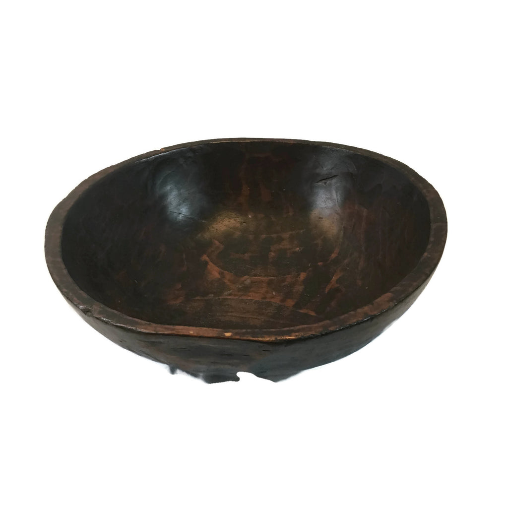 Vintage 100 Year Old Zelhova Wood Bowl