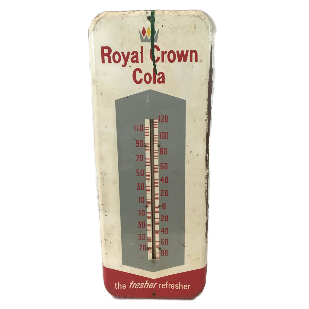 Vintage Royal Crown Cola Thermometer