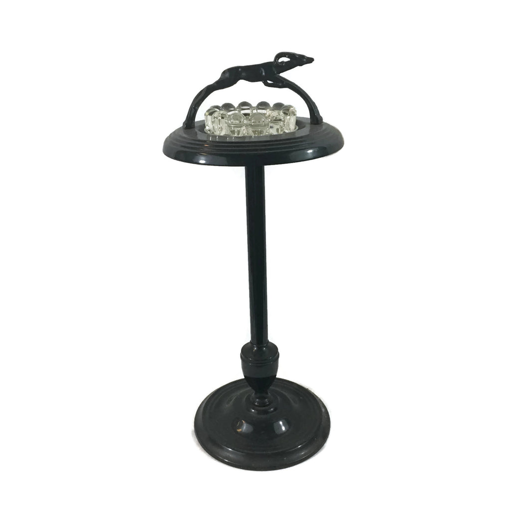 Art Deco Smoke Stand With Ashtray