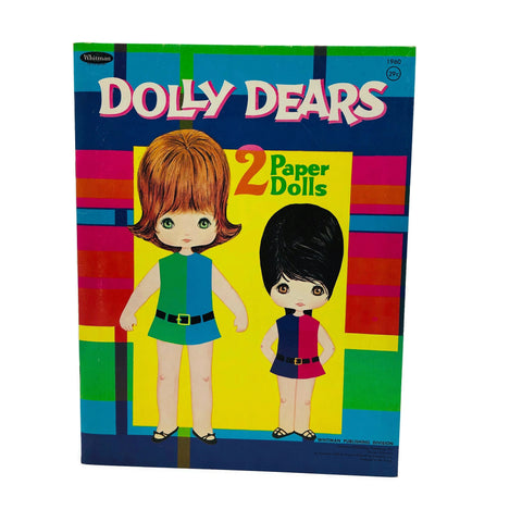 Vintage Dolly Dears Paper Dolls Uncut Booklet