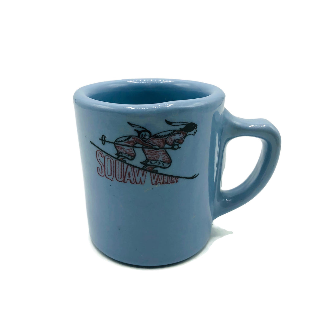 Vintage 1960 TEPCO Squaw Valley Coffee Mug