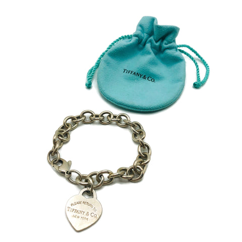 Please Return to Tiffany Tiffany & Co. Sterling Silver Bracelet