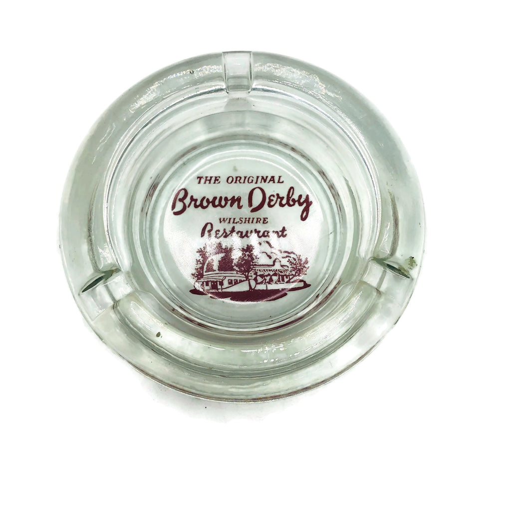 Vintage Los Angeles Brown Derby Ashtray