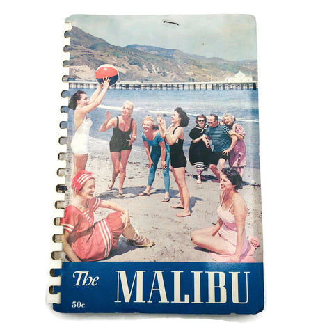 Vintage 1957 Malibu California Phone Directory Book