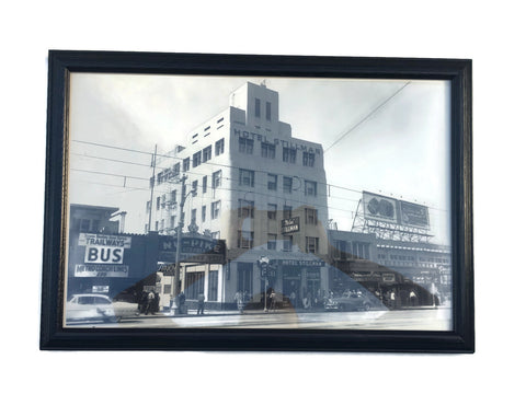 Old Long Beach California Framed Photo