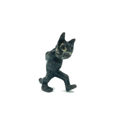 Vintage 1920's Metal Felix The Cat Figurine
