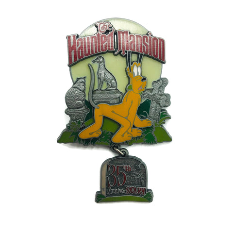 Disneyland Haunted Mansion 35th Anniversary Anniverscary Pin