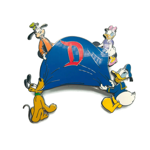 Disneyland Goofy Pluto Daisy Donald Duck Collectors Pin