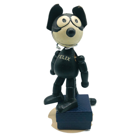 "Vintage 8"" 1920's Felix the Cat Doll (Pat Sullivan) Figurine"