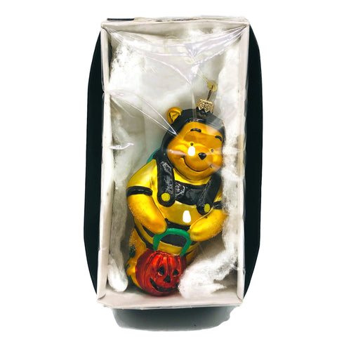 Vintage Christopher Radko Disney Winnie The Pooh Halloween Christmas Ornament