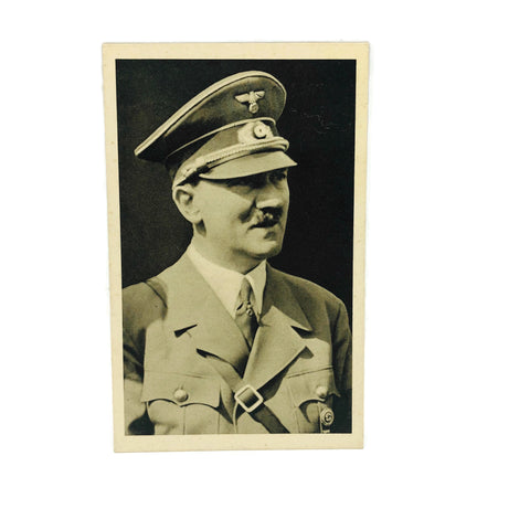 Vintage Original 1939 Hitler Photo Post Card
