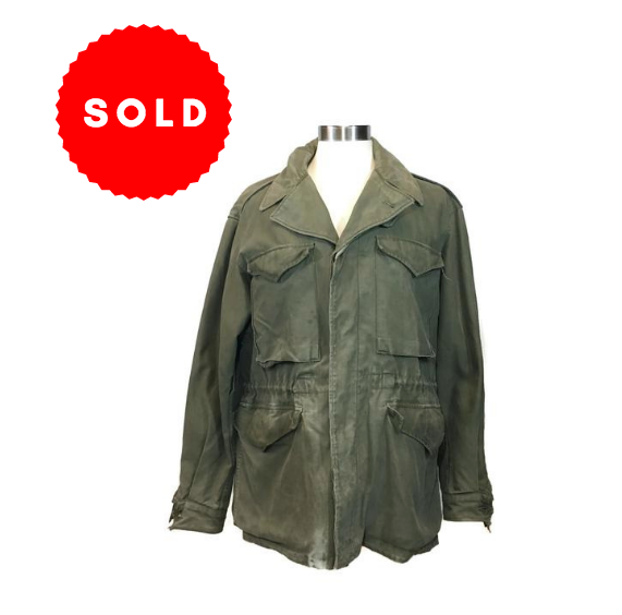 Vintage Mens Army Jacket