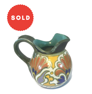 Vintage Gouda Pottery Dutch Pitcher