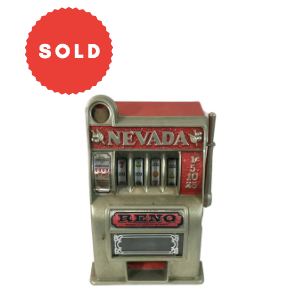 Vintage Children's Toy Slot Machine