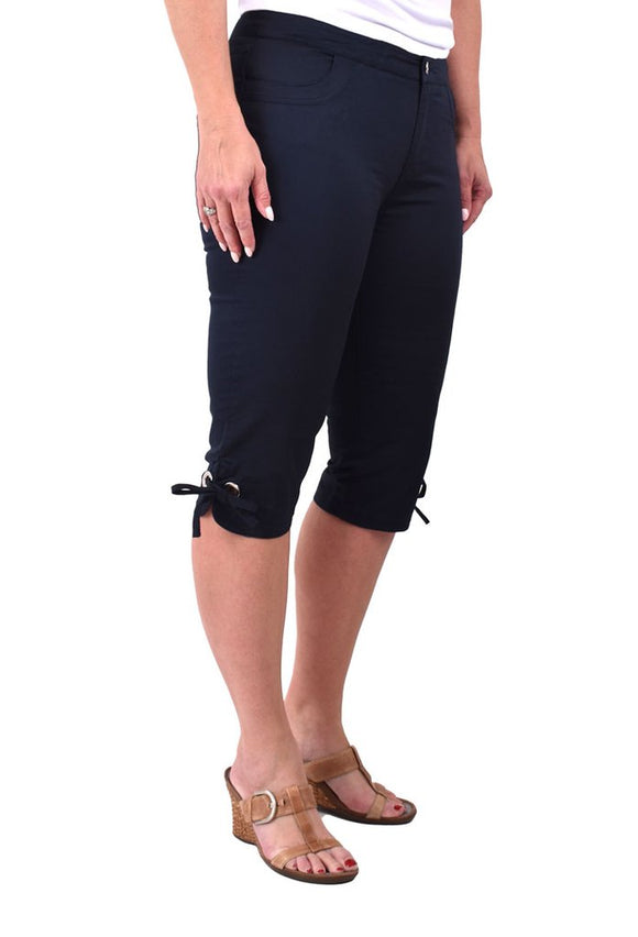 Stretch Mid Rise Pants 25535