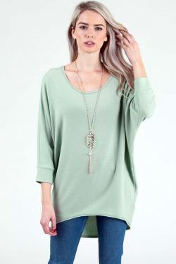 Yahada 3/4 Sleeve Tunic