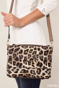 Leopard Satchel by Noelle