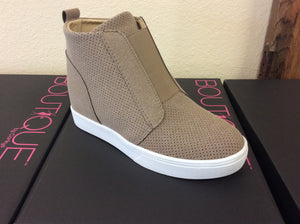 Killeen taupe Bootie by Corkys