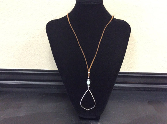 Teardrop Adjustable Necklace by Ethel&Myrtle