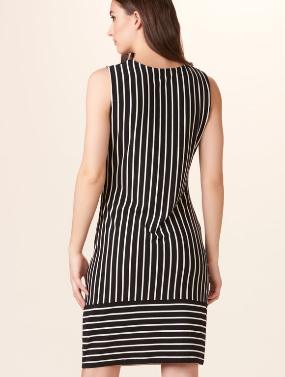 405407 striped dress by Charlie Paige