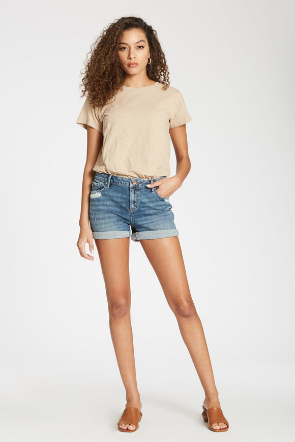 Dakota Ava Highrise Denim short