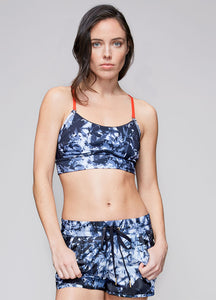Bustiera Cut Cami – Palm Shadow - Azuroo Activewear