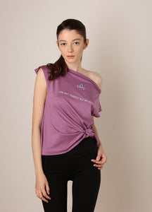 Bluza Life isn't perfect but my outfit is - Iris - Azuroo Activewear