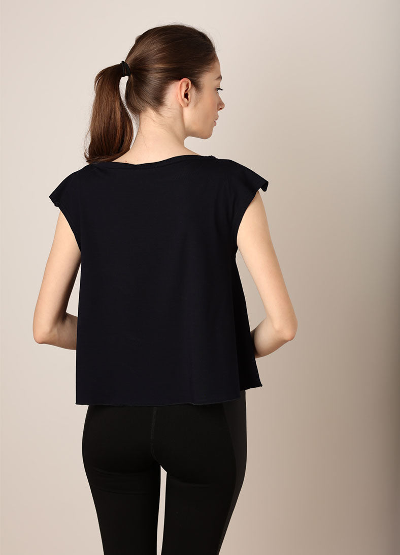 Bluza Life isn't perfect but my outfit is - Navy - Azuroo Activewear