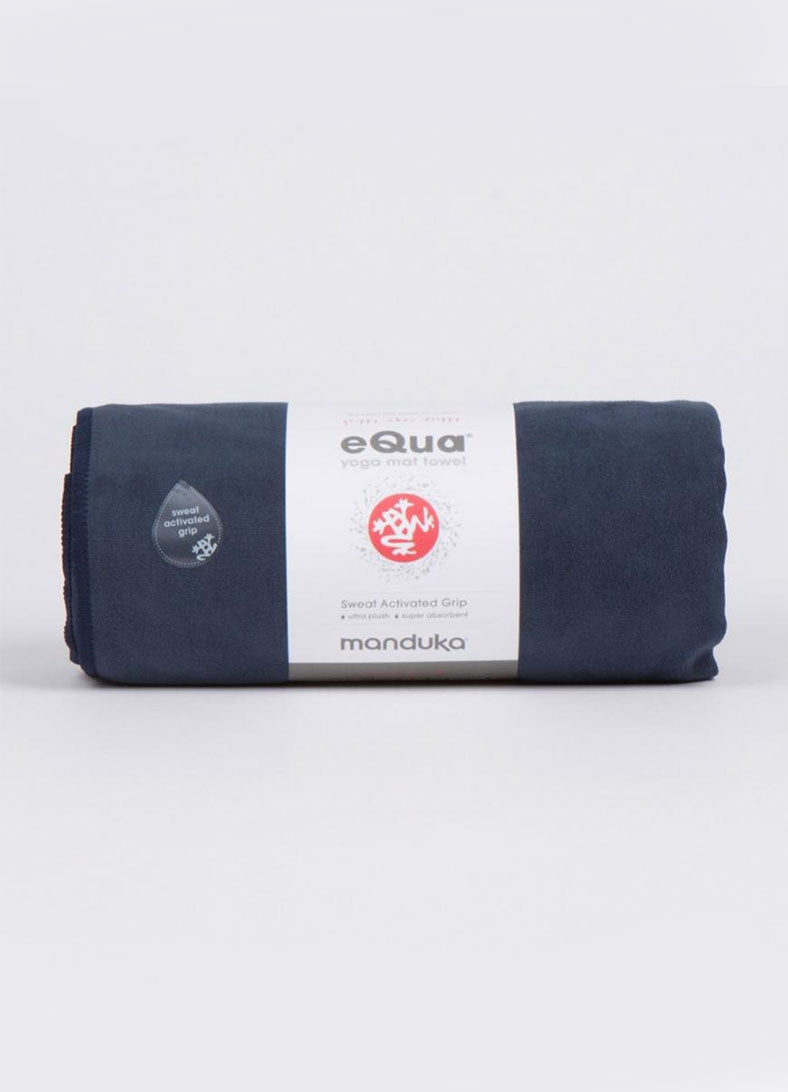 Prosop yoga Equa yoga mat towel - Midnight (Blue) - Azuroo Activewear